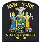 Police Patch New York State University
