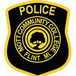 Police Patch Mott Community College of Flint MI