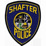 Police Patch Shafter