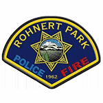 Police Patch Rohnert Park