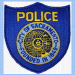 Police Patch City of Sacramento