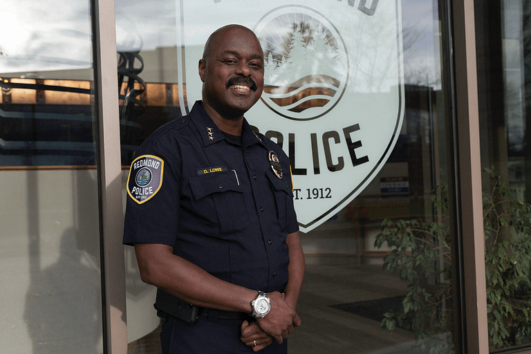 Redmond's First Black Police Chief Talks On Transparency and Race