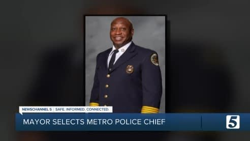 John Drake named Chief of Police for Metro Nashville