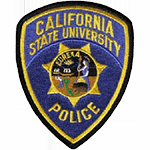 Police Patch California State University